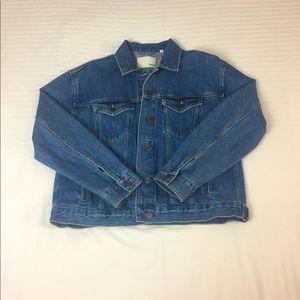 Wilfred Free Blue Denim Jacket